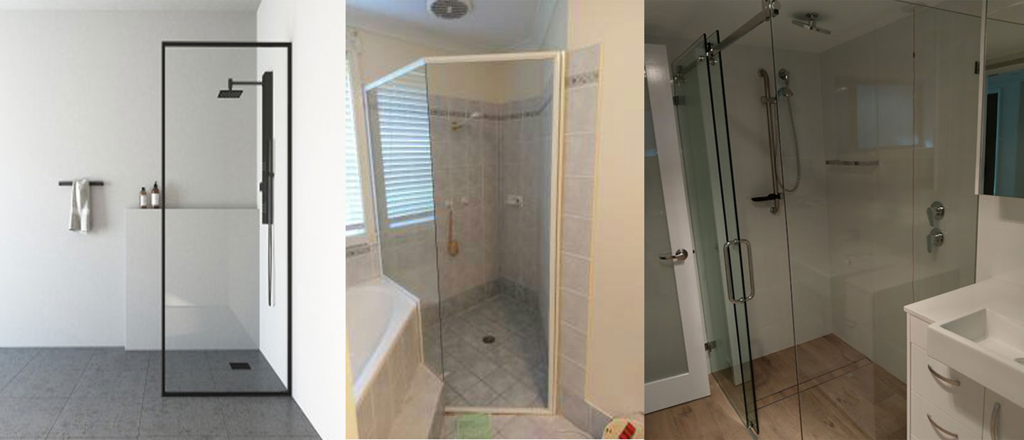 Types Of Bathroom Shower Screens