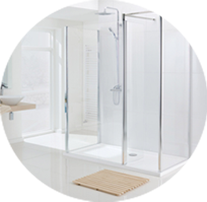 stylish bathroom shower screens